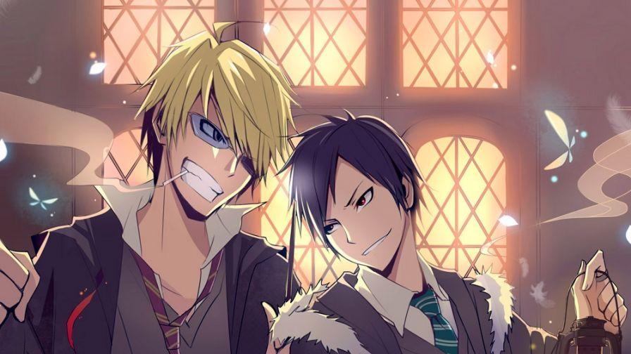 صور انمي كرتون رائعة للبنات وشباب Anime رومنسي Durarara Full 183106 صور انمي Anime Photo Art