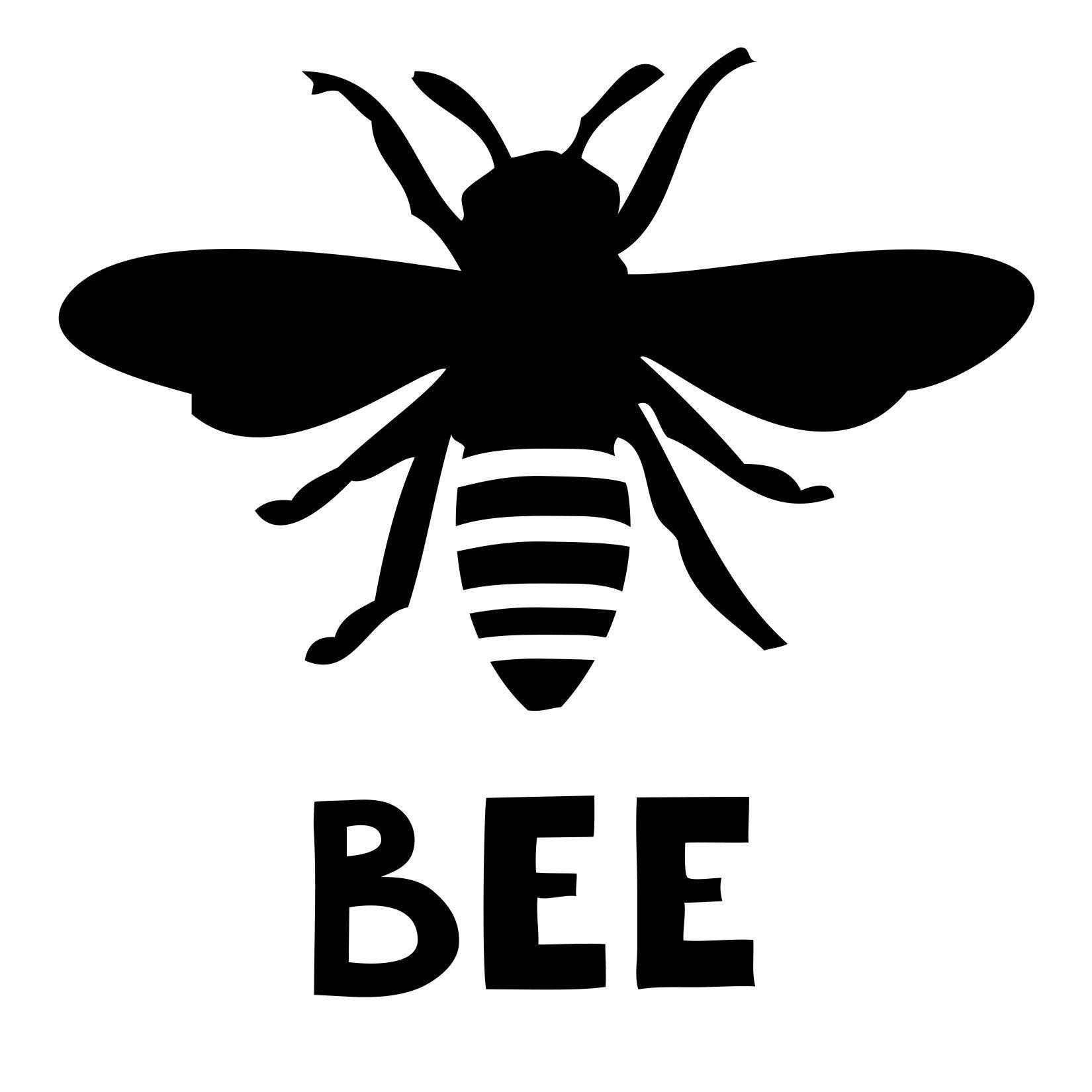 Honeybee Collage   Moomah the Magazine stencil to make ...