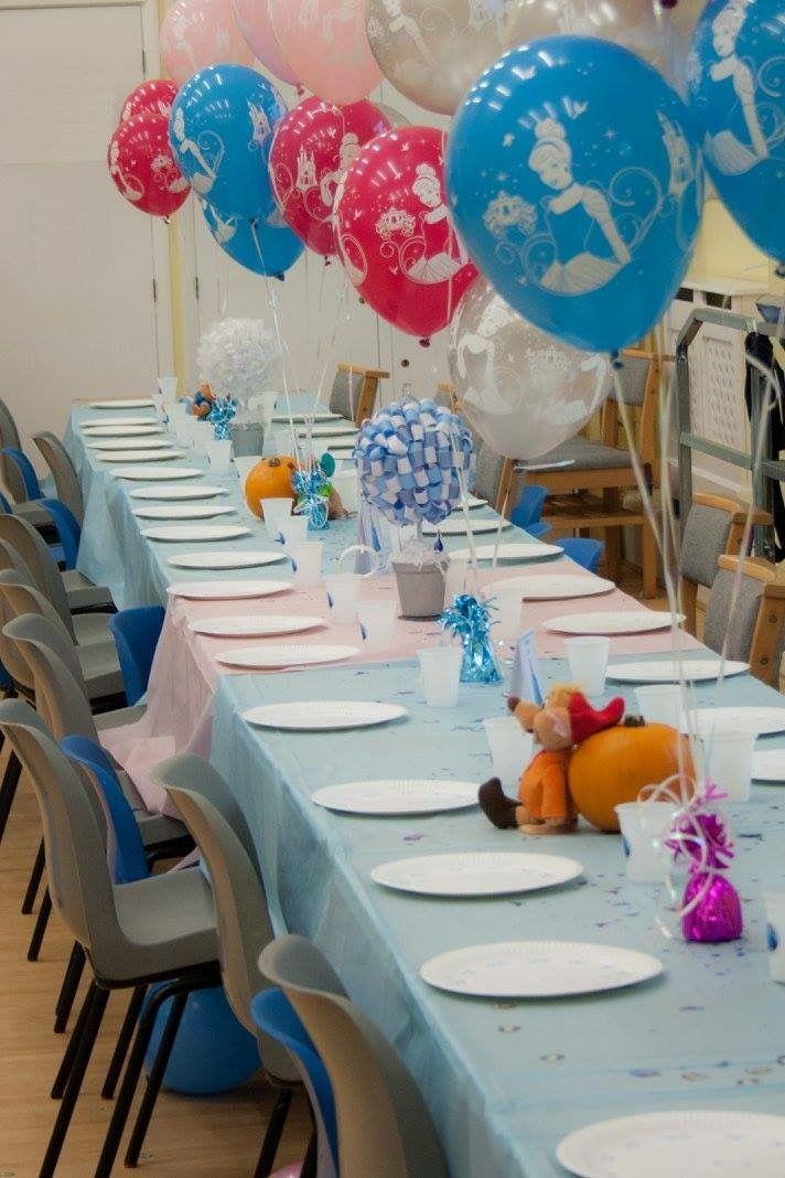 My Cinderella birthday decorations princess party