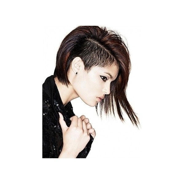 Undercut Hairstyles Ideas ❤ liked on Polyvore featuring accessories, hair accessories, hair, girls, hairstyles, people and pictures