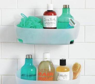Bathroom Storage And Organizing Ideas   Command Water Proof Bathroom Caddies .