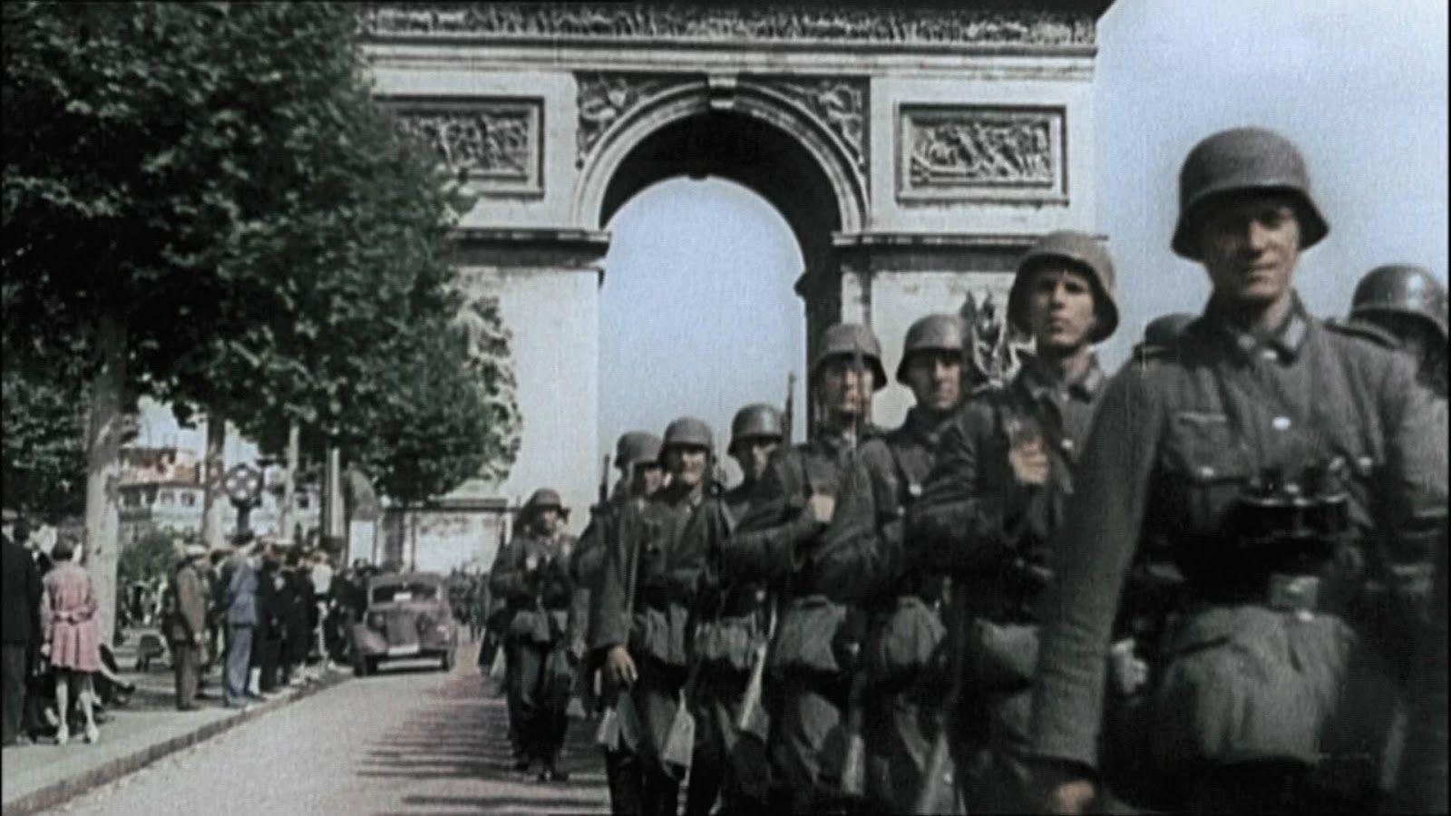 Resultado de imagen de segunda guerra mundiala color