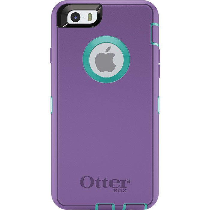 Otterbox Defender Iphone 6 Plus Case Purple Blue Cell