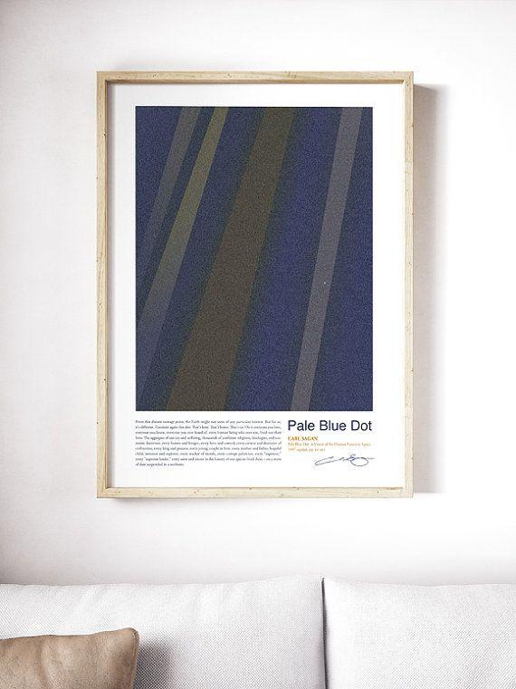 poster carl sagan pale blue dot poster