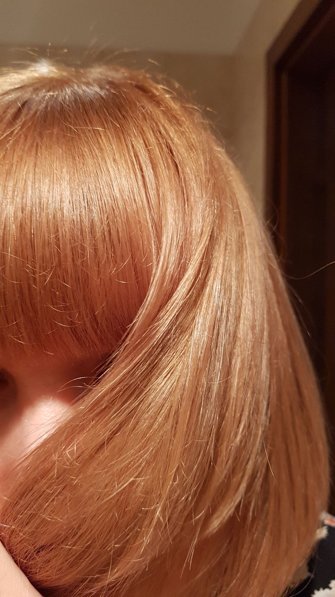 Strawberry Blonde Hair I Used Loreal Colorista In Strawberry