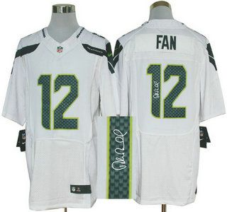 a1ba8f2b846 Nike Seattle Seahawks Jersey Blank Navy Blue With Green Fadeaway Elite  Jerseys