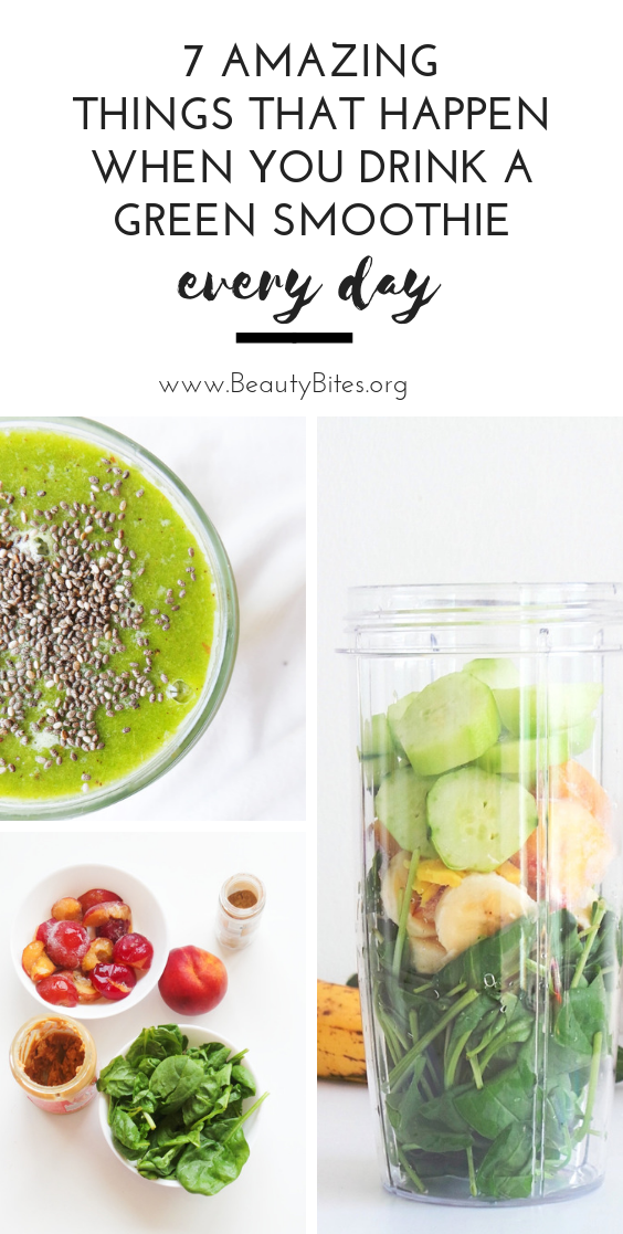 7 things that will happen when you drink a green smoothie every day Check out the green smoothie health benefits I experienced during the first week of making green smoot...