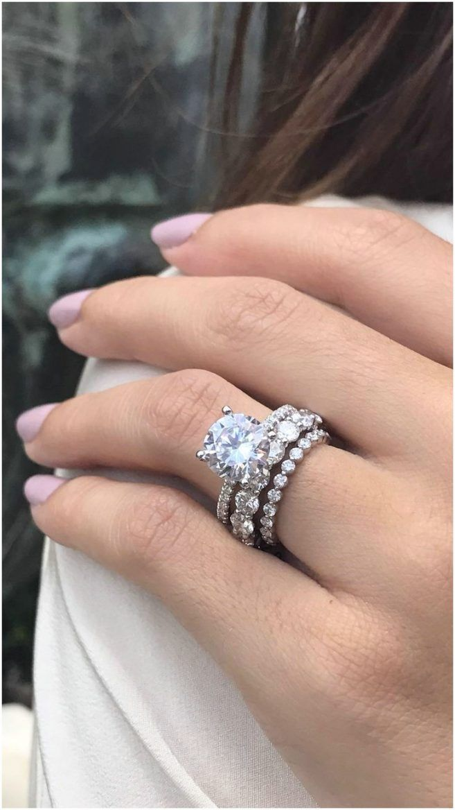 10000 Dollar Wedding Ring Round Solitaire Engagement Ring 3ct Engagement Ring Engagement Rings Round