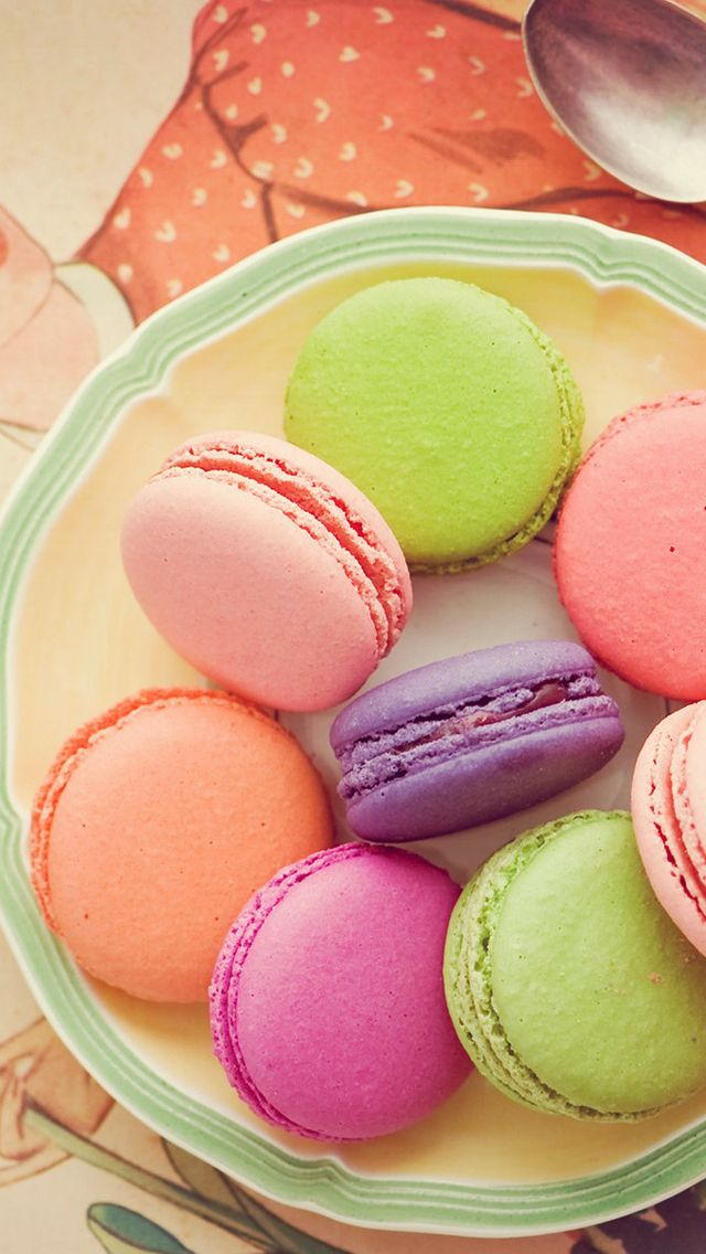 Macaron Wallpaper For Iphone And Android Couleur Pastel