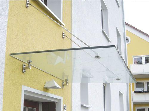 Auvent du0027entrée en verre AL-SKY® Medium LängleGlas GmbH marquise