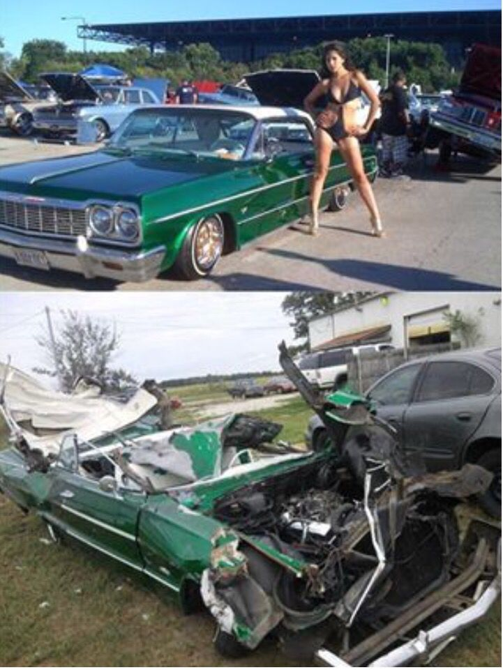 Image result for wrecked muscle cars and classics | TOTALED OUT ...