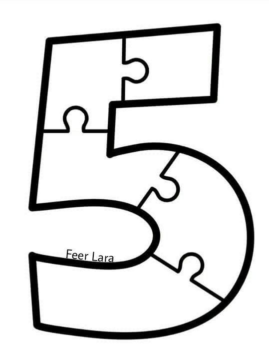 número 5 matek números número 5 és número