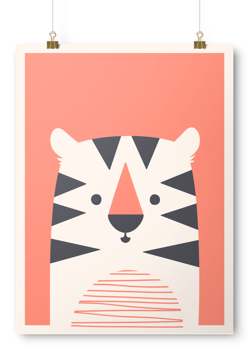 Charlie the Tiger | Imaginery Beast #illustration