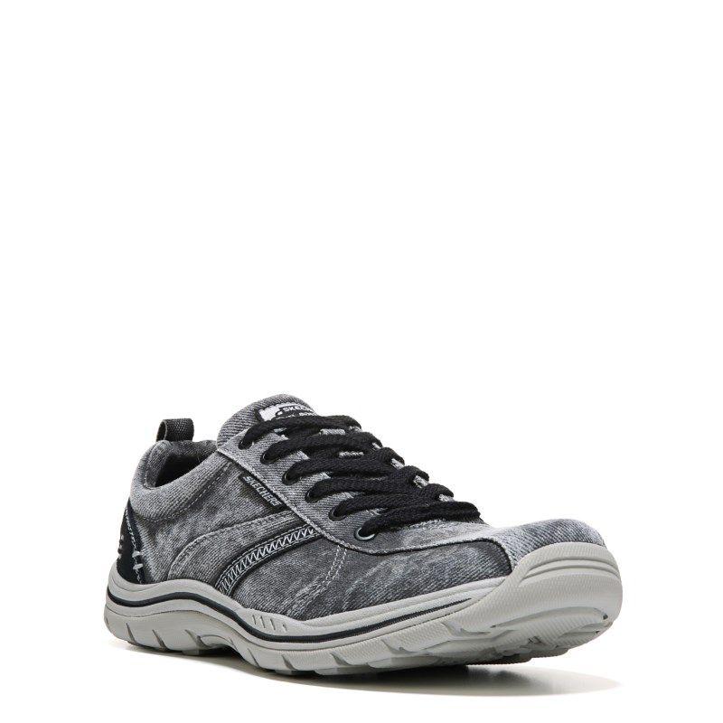 skechers relaxed fit memory foam sneakers