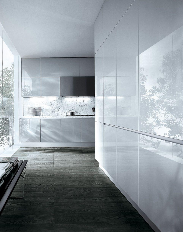 Clean white cabinets. Varenna by Poliform | poliform | Pinterest ...