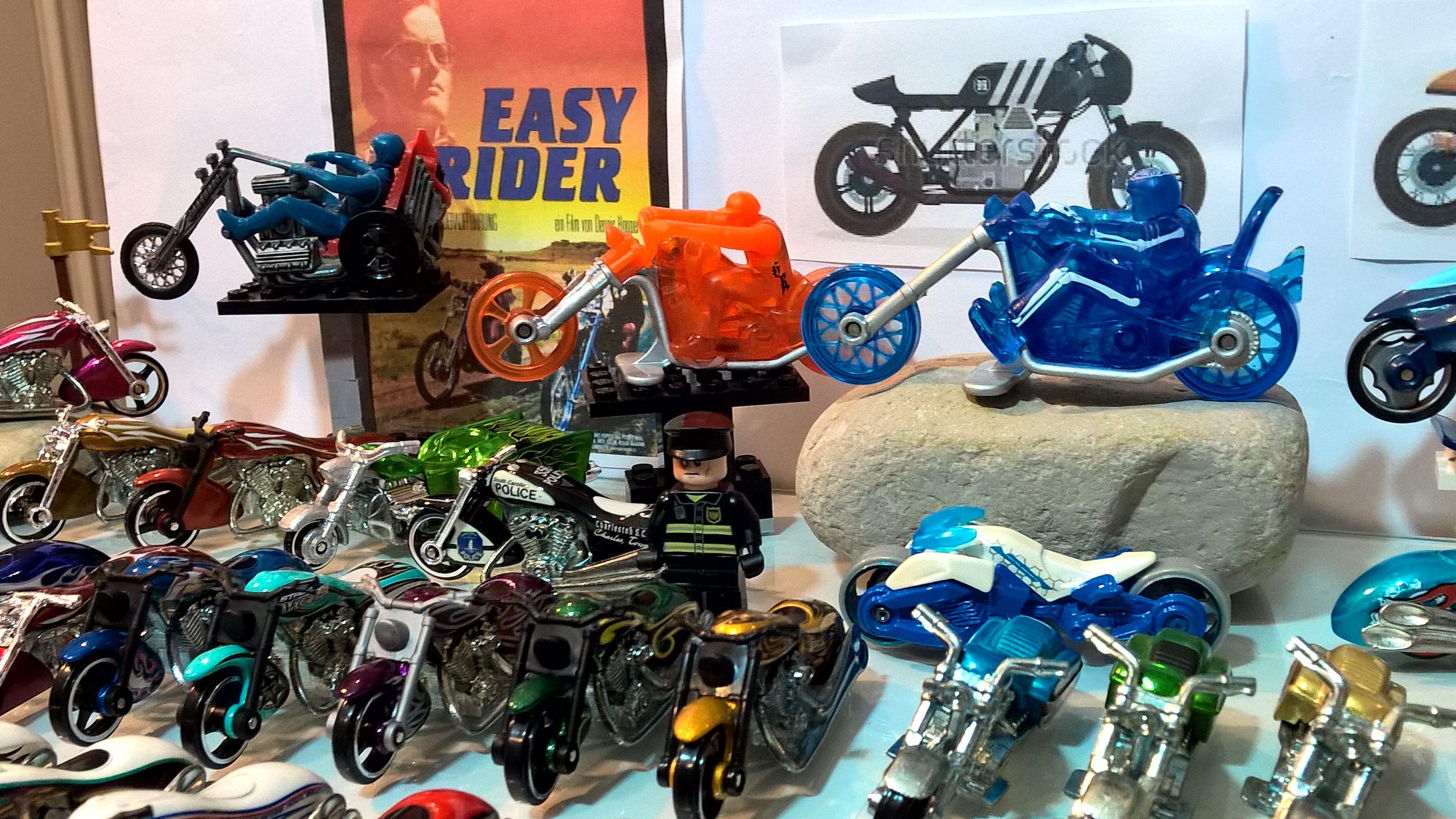 Hot Wheels Diorama Motorcycles Easy Rider Hot Wheels Bike Wheel