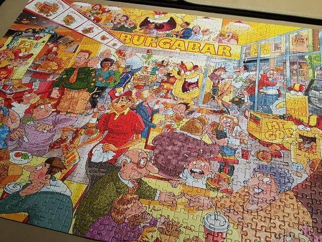 How to complete a jigsaw puzzle quickly