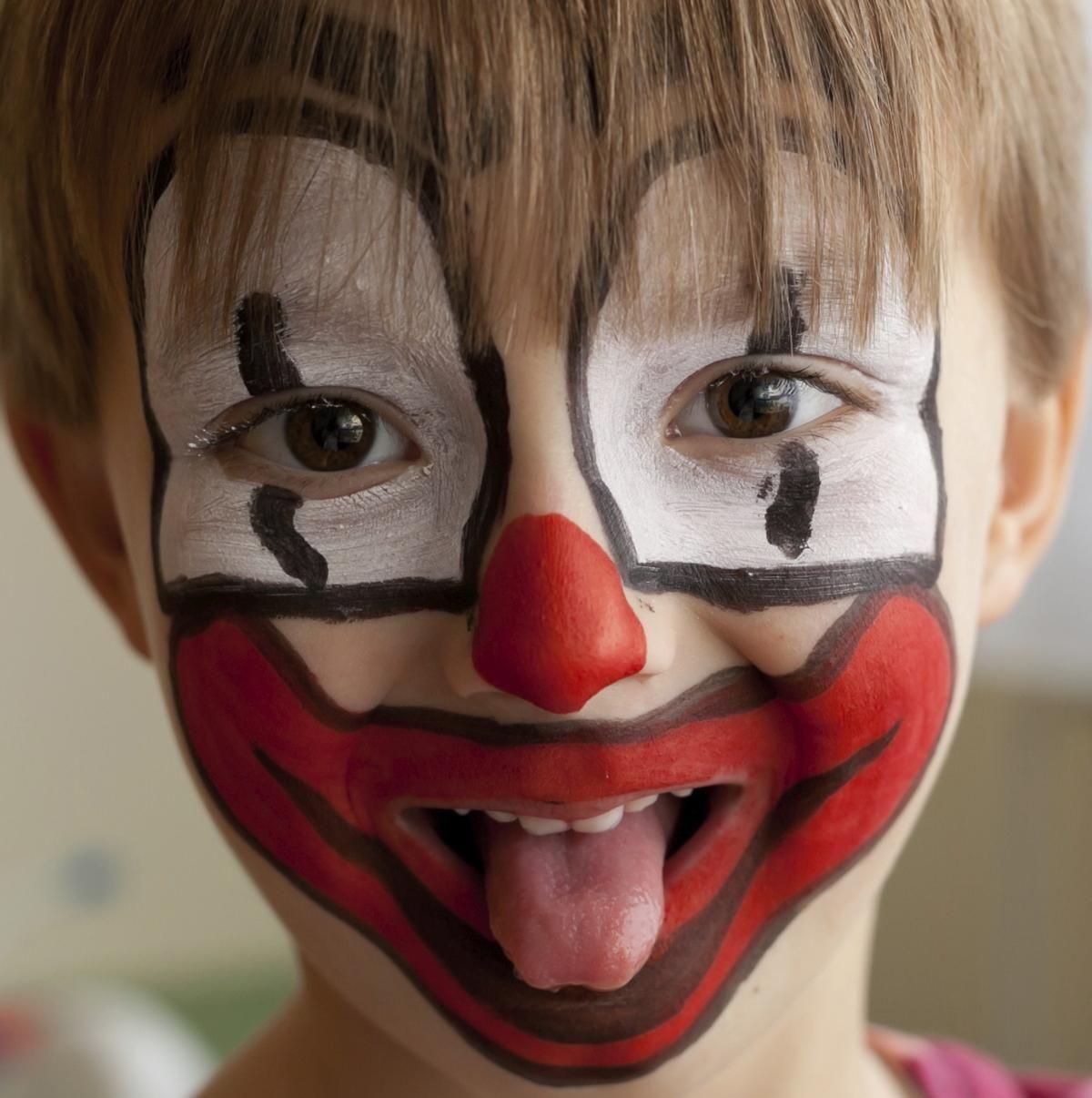 Face Painting Ideas for Beginners Clown Beginner