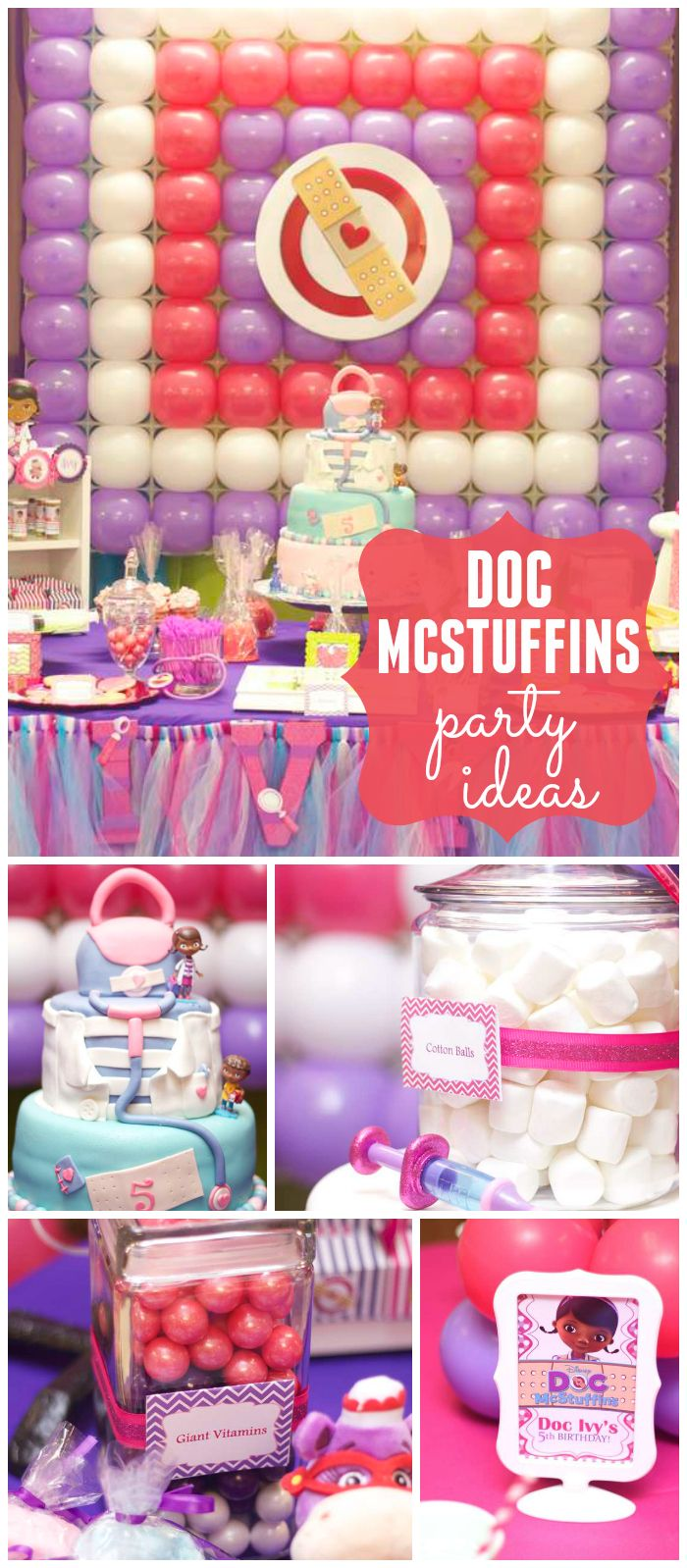 Doc McStuffins Birthday Doc Ivys Birthday Party Balloon