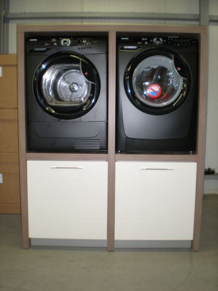 Wasmachine Droger Kast Creative Space Laundry Closet
