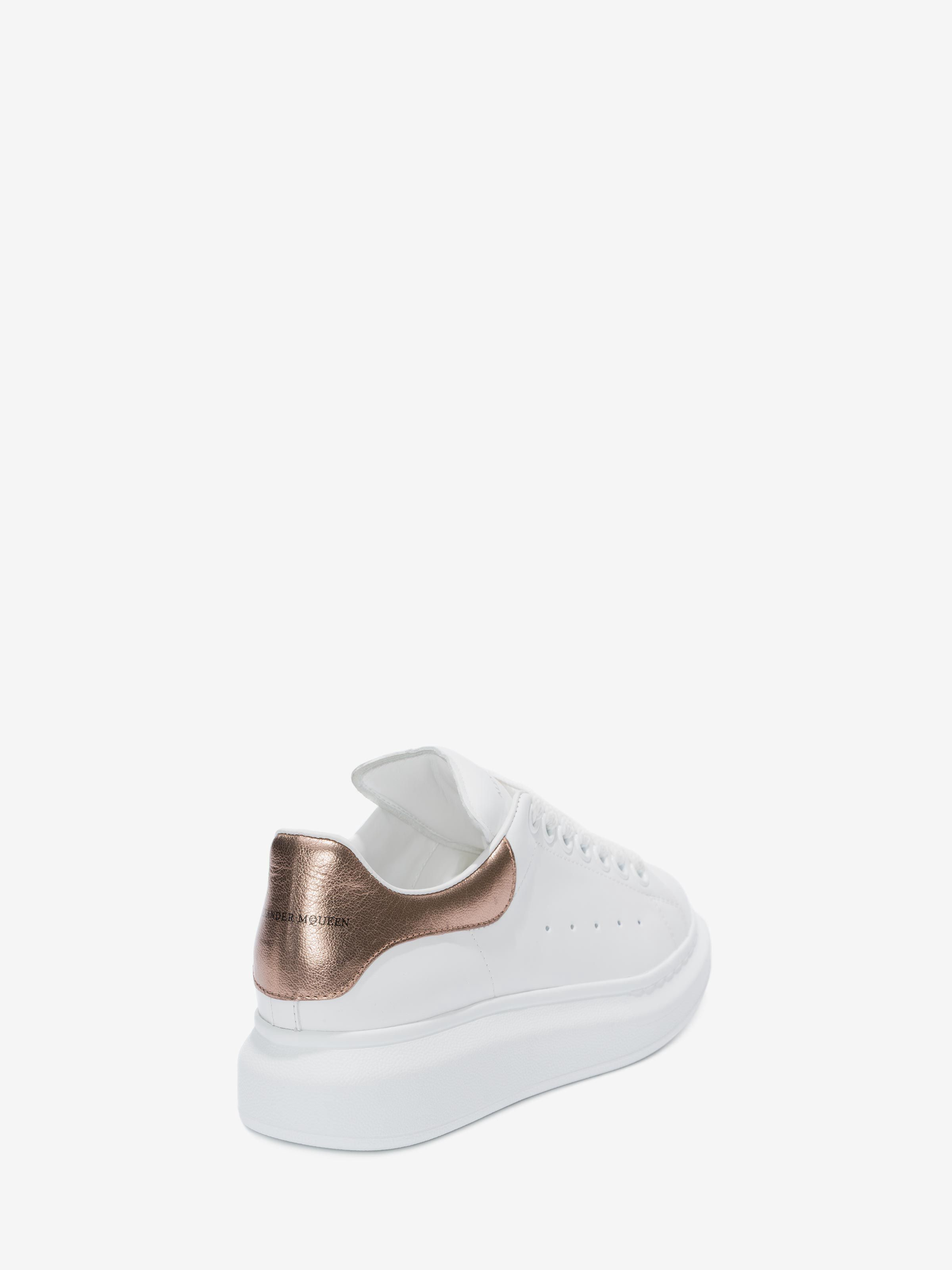 5500a2ff88f44 Alexander Mcqueen Oversized Sneaker - Metallic Blue 36.5