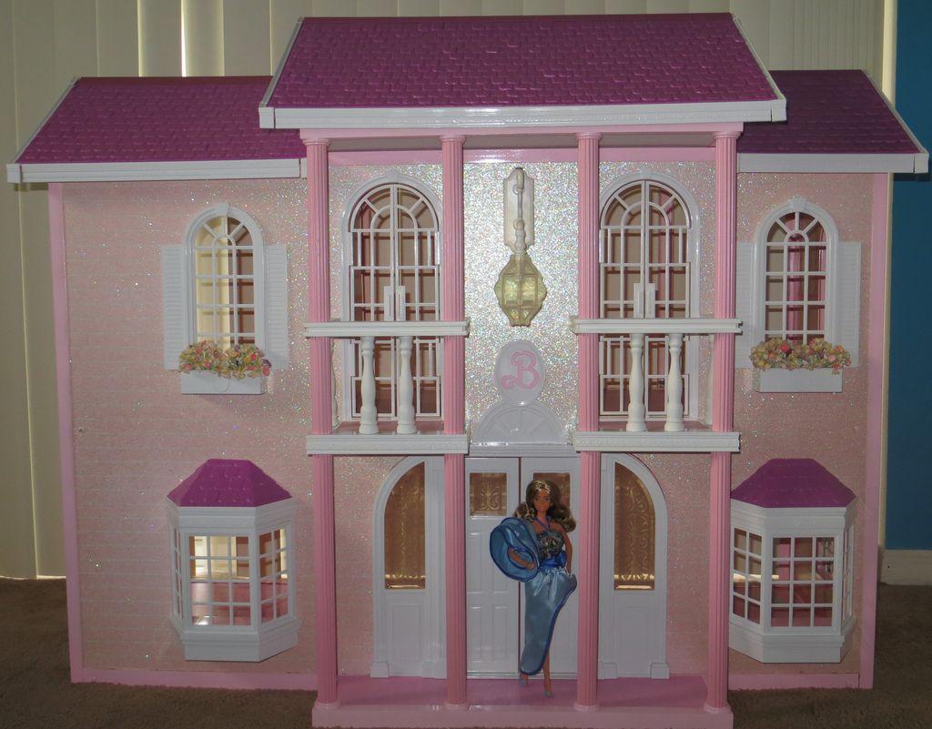Magical Mansion -paint Barbie Miniatures #1