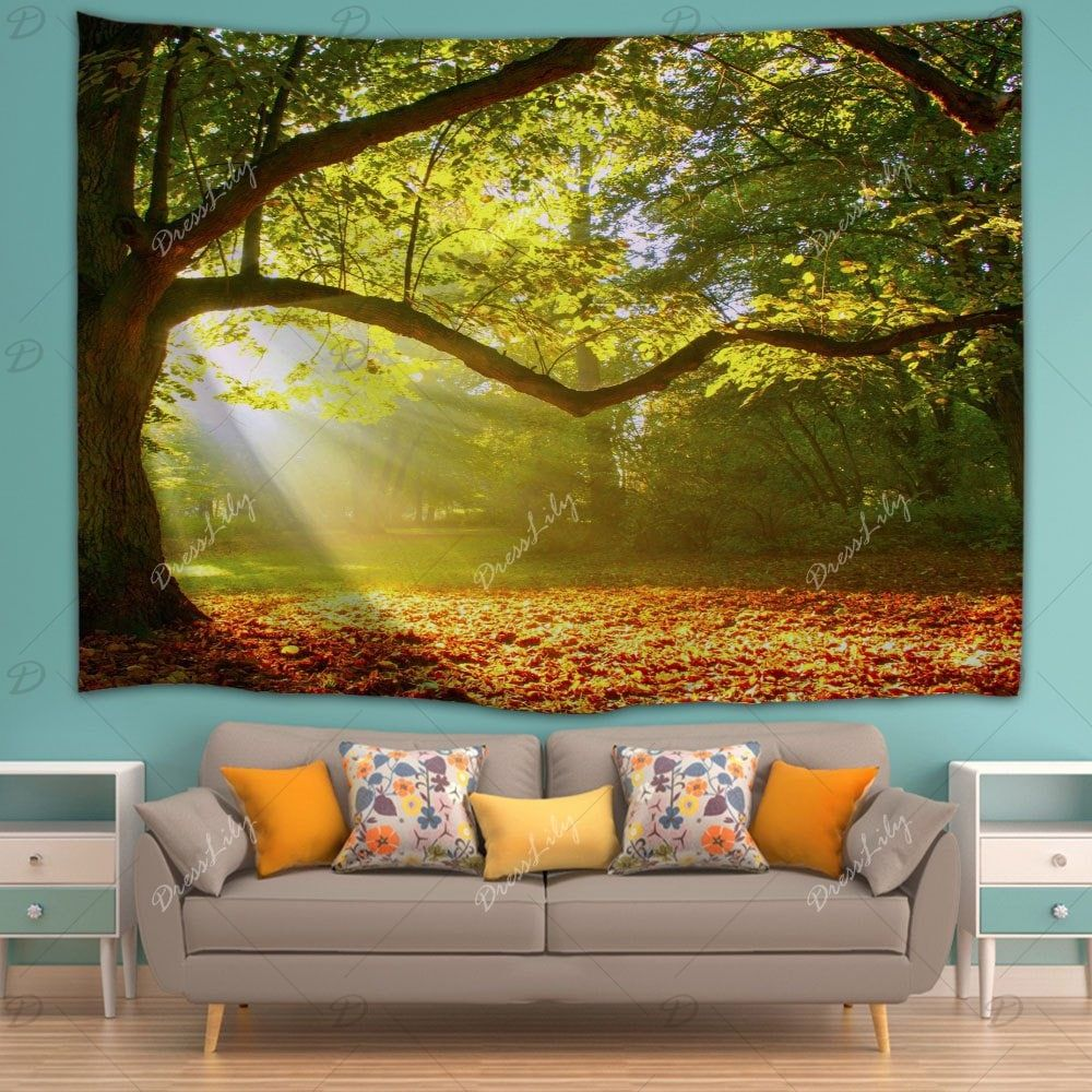 Sunshine Grove Hanging Wall Blanket Tapestry | Wall blankets ...