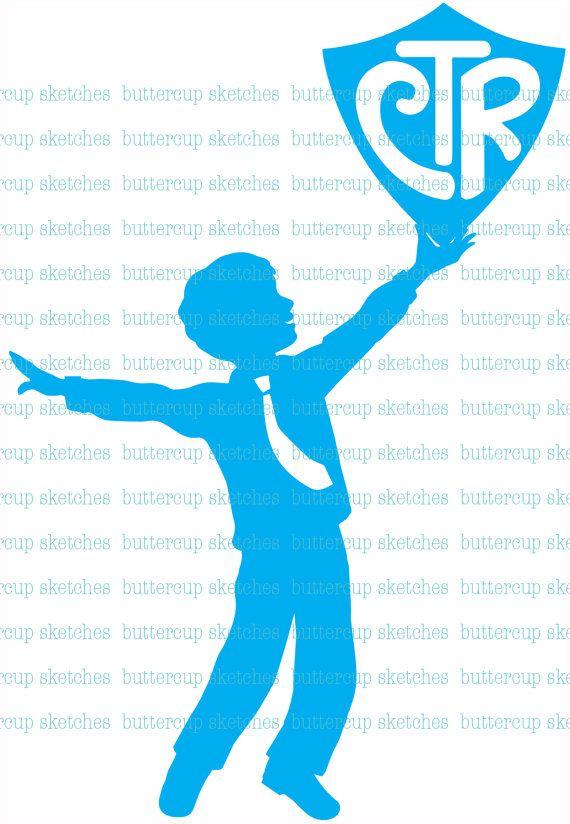 LDS Primary CTR Theme   Bautismo y Imprimibles
