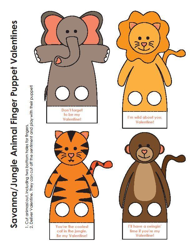Moldes De Dedoches De Animais Para Imprimir Dedoches Animais E