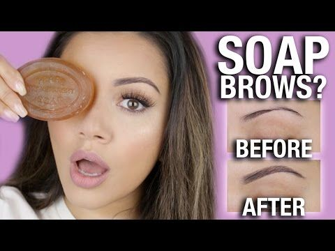 bba53be105d WTF?! SOAP BROWS Tutorial - YouTube | makeup in 2019 | Brow tutorial ...