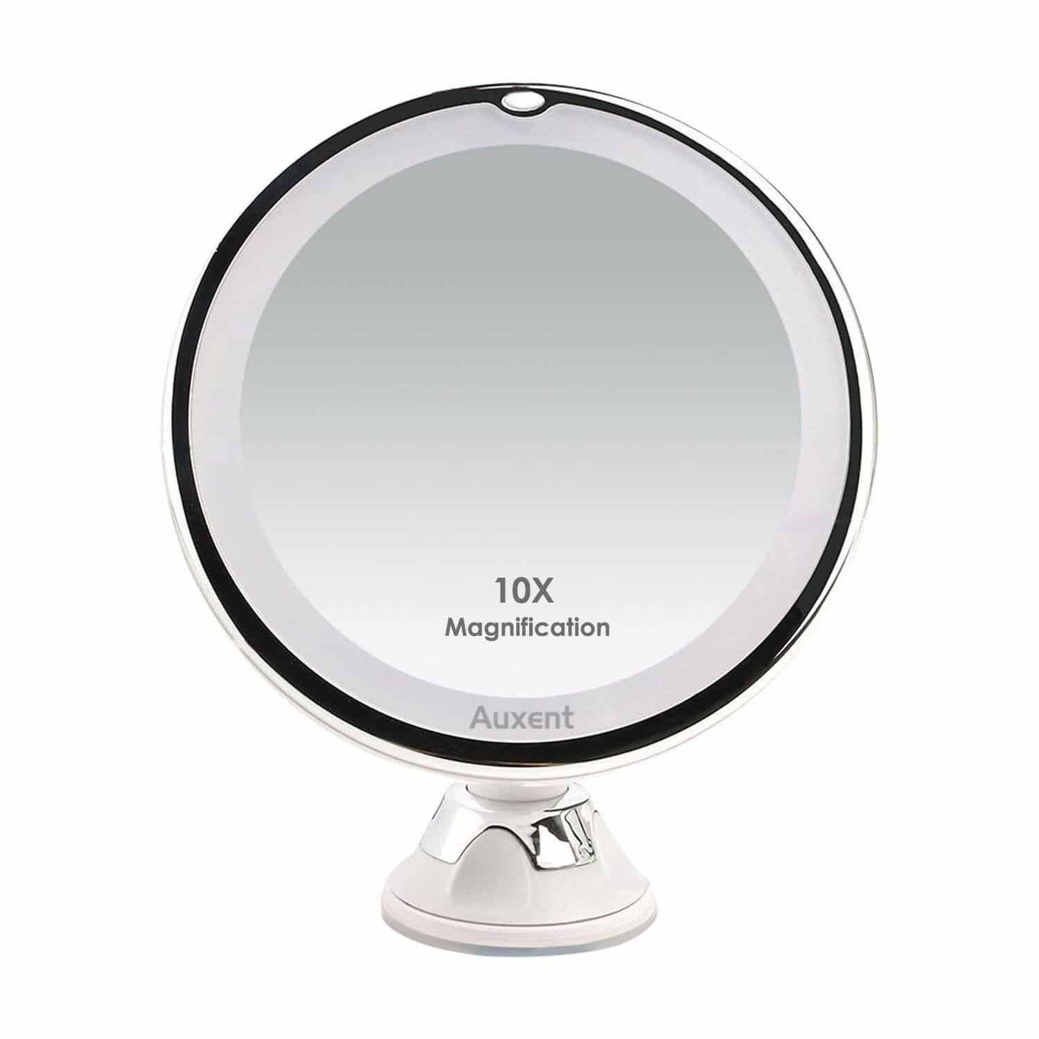 Top 10 Best Lighted Makeup Mirrors In 2020 Most Review Hqreview Makeup Mirror With Lights Led Makeup Mirror Mirror
