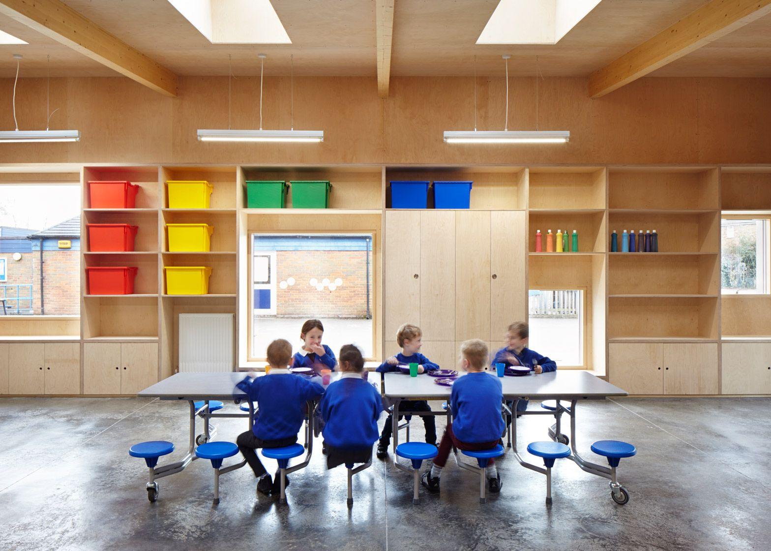 School Dining Hall Recreates Fantastic Mr Fox's Underground Endearing School Dining Room Design Inspiration