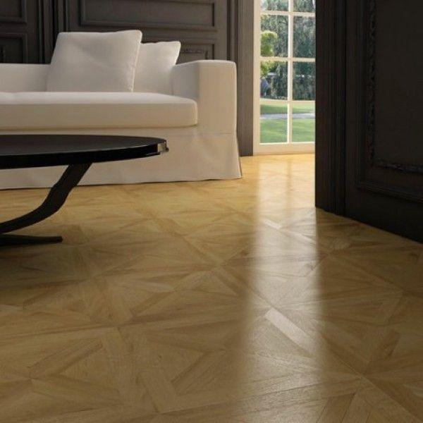 faus floor bretana oak parquet effect laminate  flooring
