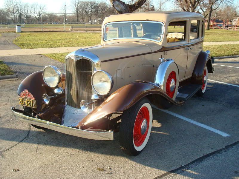 Reo Car: 1932 REO Flying Cloud S-2 Sedan. SIde Note: Yes This Is