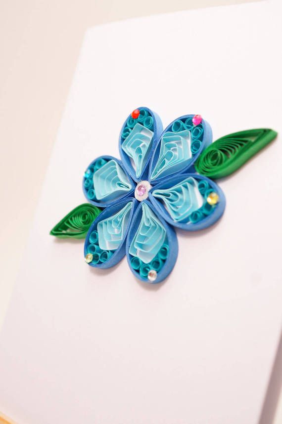 twirled spring collection a beautiful paper quilled card