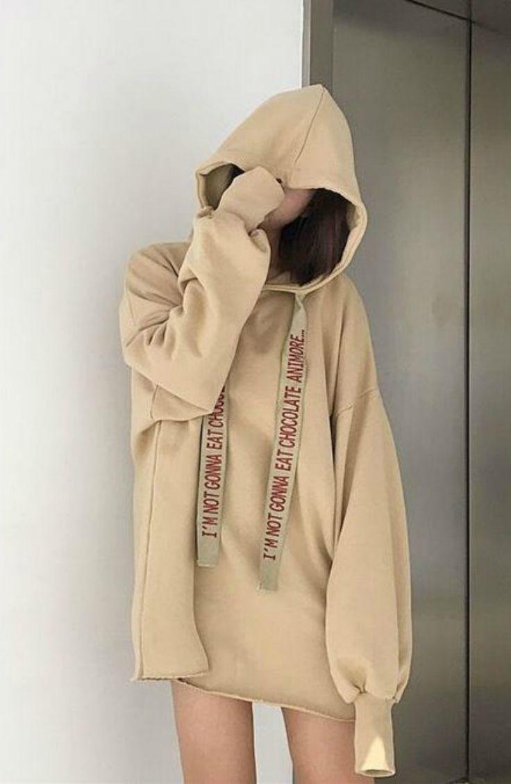 Oaksa Lettering Drawstring Hoodie Hoodie Flashdeal Hoodie Fashion Oversized Hoodie Outfit Oversized Sweatshirt Outfit [ 1128 x 736 Pixel ]