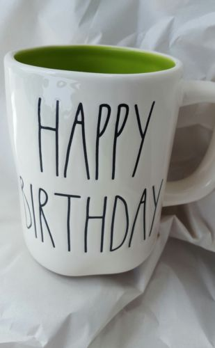 Rae Dunn HAPPY BIRTHDAY Mug Cup By Magenta