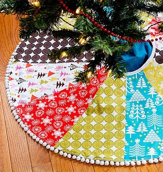 make your own tree skirt