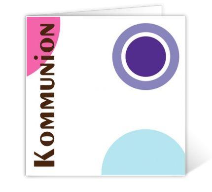 Kommunionskarte