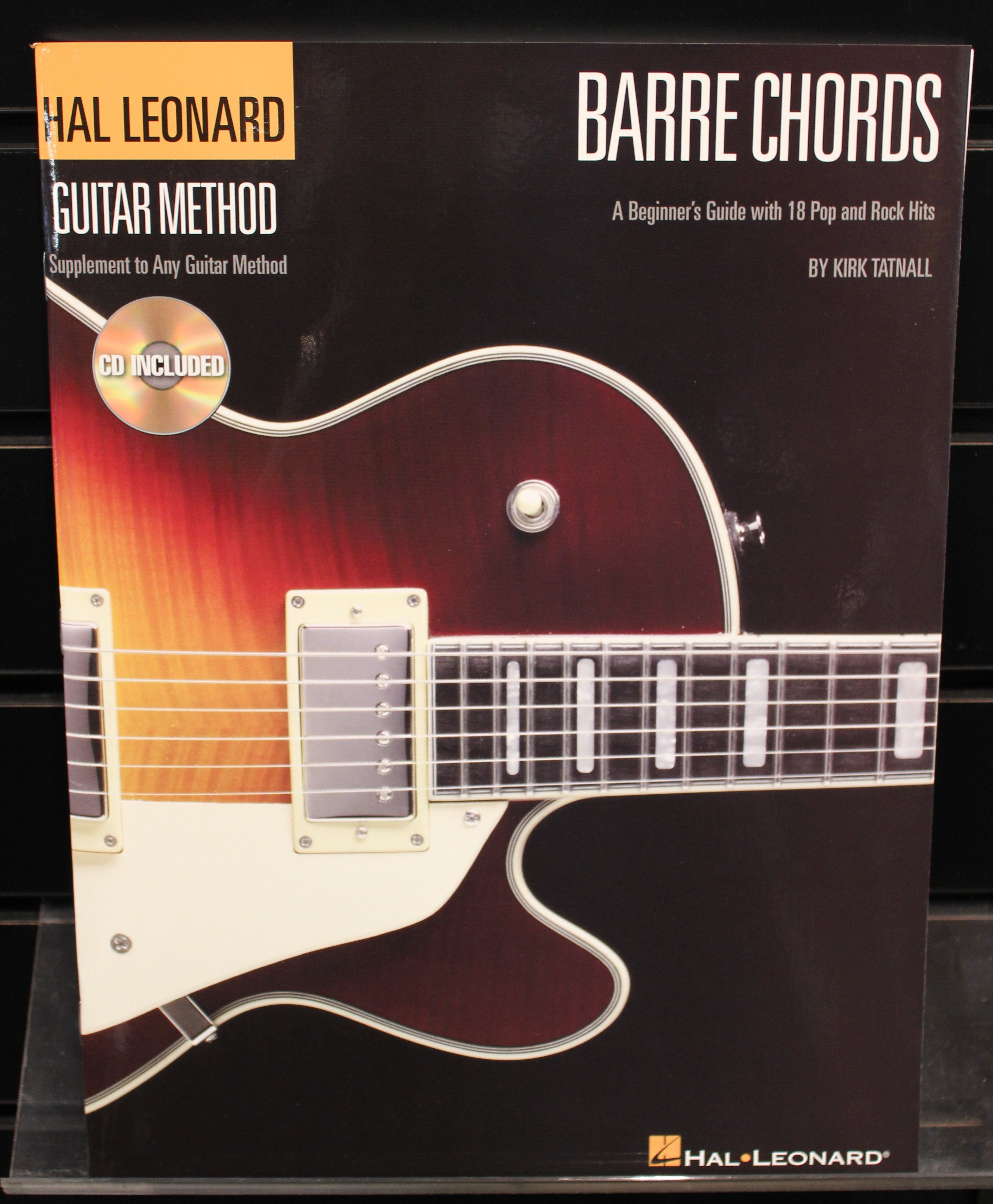 Barre Chords Guitar Method A Beginners Guide With 18 Pop And Rock