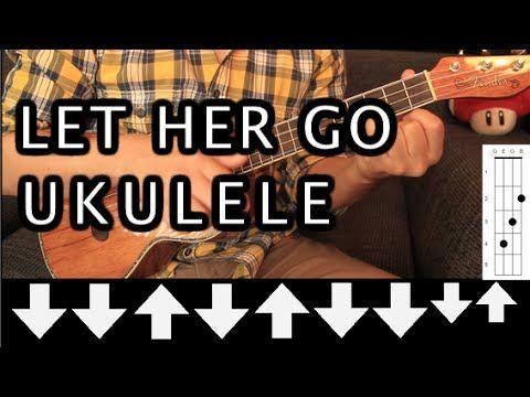 Passenger Let Her Go Ukulele Tutorial Hd Youtube Nuty