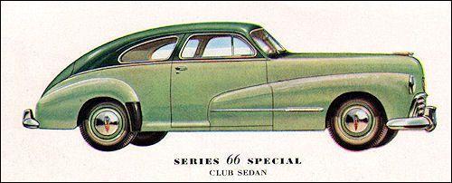 1947 oldsmobile 66 club sedan biler pinterest biler for 1947 oldsmobile 4 door sedan