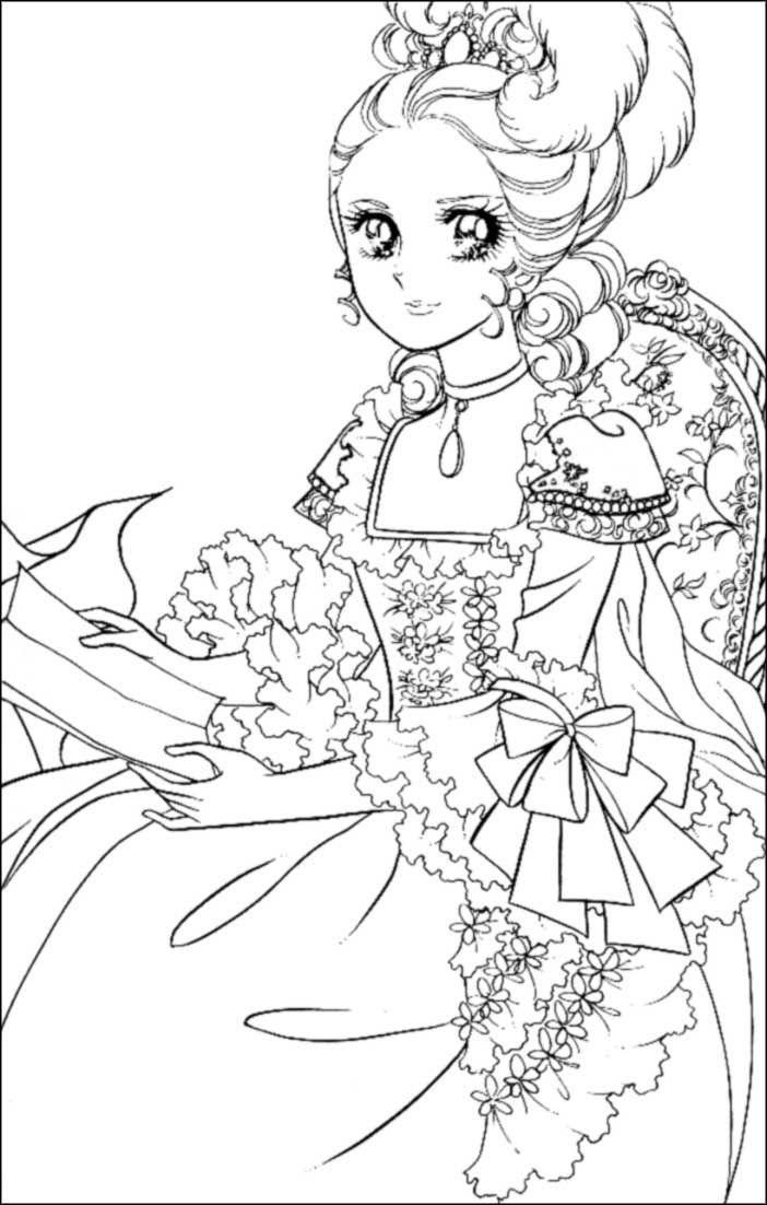 Manga Japonnais !!!!! | Princess coloring pages, Princess ...