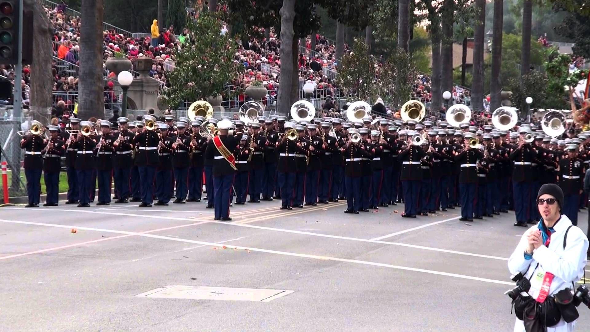 USMC West Coast Composite Band 2013 Pasadena Rose Parade