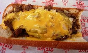 How To Make A Desperation Cheesesteak With Steak Umm Cheesesteak Philly Cheese Steak Philadelphia Cheesesteak