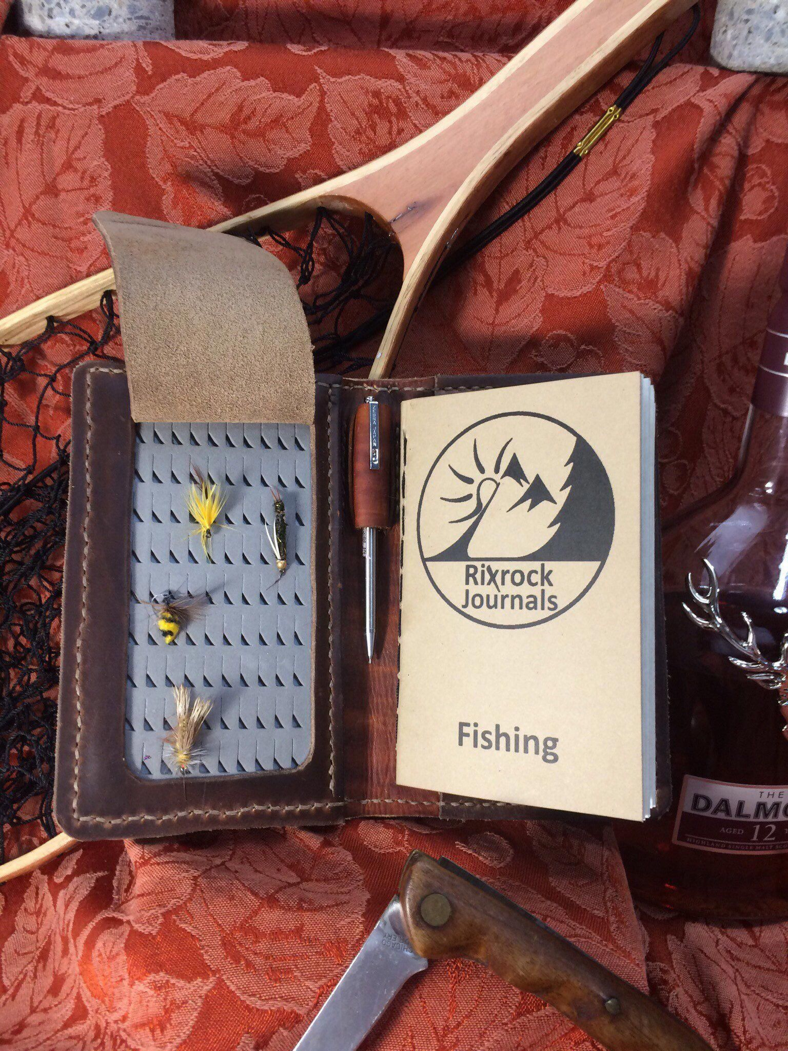 Excited To Share The Latest Addition To My Etsy Shop Fly Fishing Wallet With Fishing Journal Wallet Fishingadvice Fishing Wallet Fish Fly Fishing