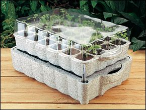 Lee Valley Self Watering Seed Starter I Think I Need 3 Or 4 Santa Seed Starter Starter Garden Garden Soil