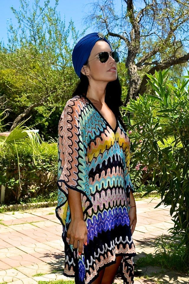 10  images about Missoni addict on Pinterest  Knitted headband ...