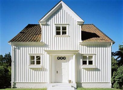 Vit fasad Vita hus Det kan verka enkelt att välja en vit fasad ...