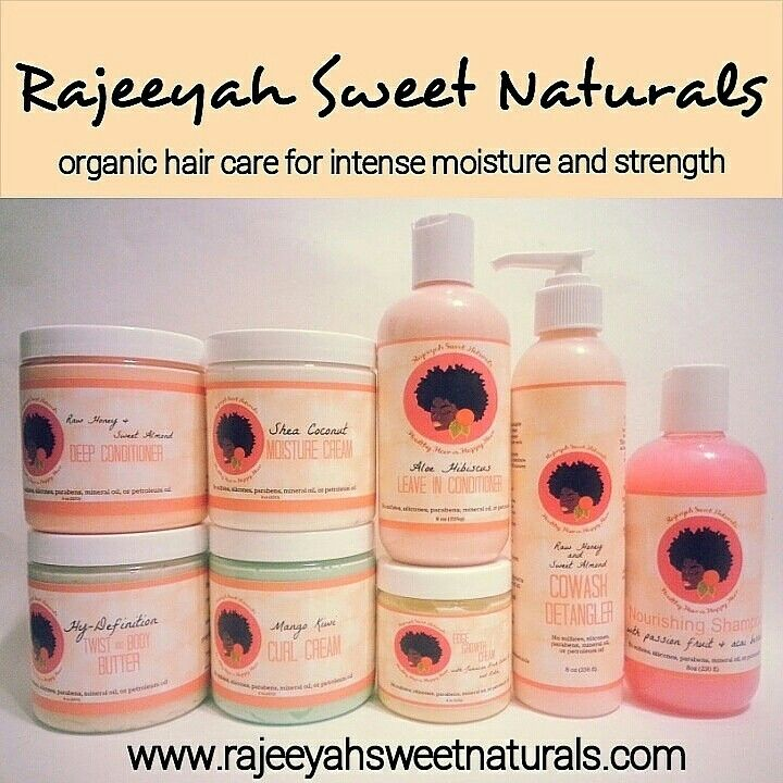 Rajeeyah Sweet Naturals Entire Hair Care Line With Images